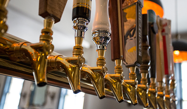 Beer Taps - The Four in Hand Taproom at the Little Inn in Bayfield, Ontario