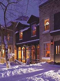 Winter Escape Little Inn of Bayfield Ontario Canada